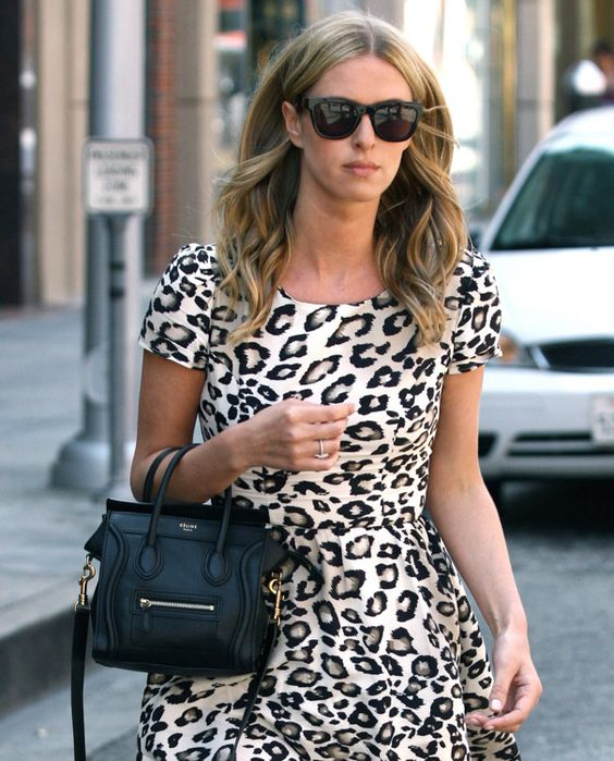 where to buy authentic celine bags online - Nicky Hilton and her Celine Nano Luggage Tote | Nicki Hilton ...