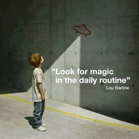 Look for magic...