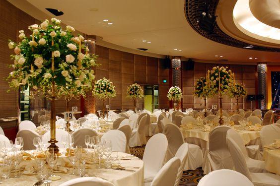 White Roses in our Ballroom- Park Hyatt Melbourne - Wedding Venue