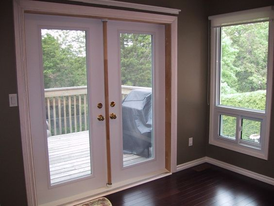 French doors home depot and exterior doors on pinterest for Home depot prehung french doors