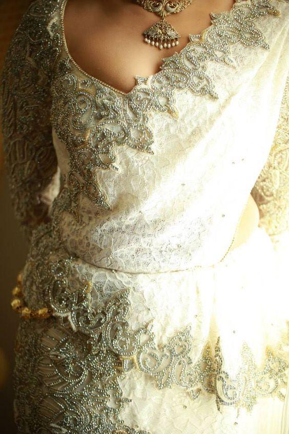 Sri Lankan Wedding - Bridal Saree