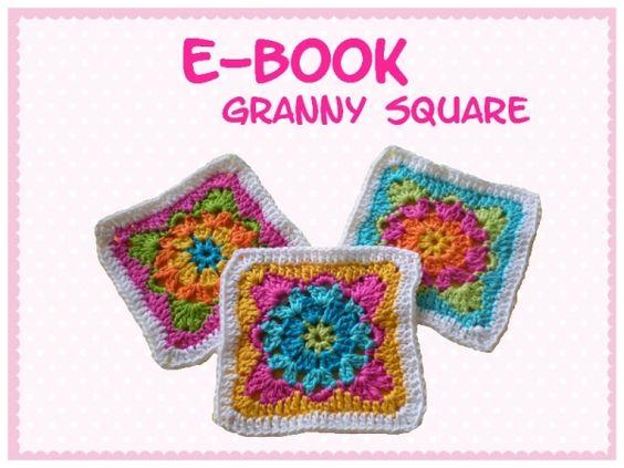Häkelanleitung - Granny Square - E-Book