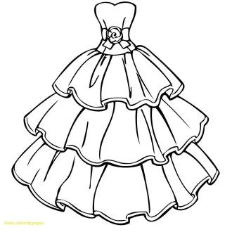 Dress Coloring Pages Free Printable Coloring Pagesgirls In Dresses Best Awesome Barbie Entitlementtrap Com Wedding Coloring Pages Barbie Coloring Pages Wedding Dress Drawings