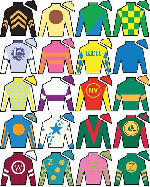 Decorate Your Own Jockey Silks Ichild Jockey Kentucky Derby Ky Derby
