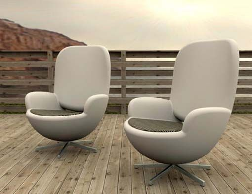 This Furniture Match To A Couple Chairs And Put in Terrace