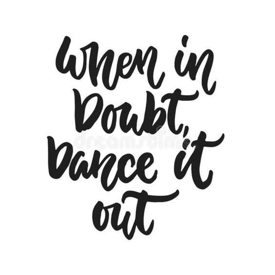 """""""100 Dance Quotes To Inspire You To Dance"""" 'When in doubt, dance it out.' #dance #dancequotes #inspiration #quotes"""
