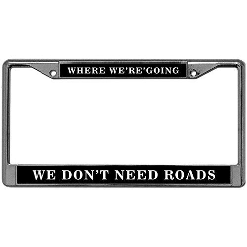 Ford Raptor Chrome Plated Metal License Plate Frame Holder