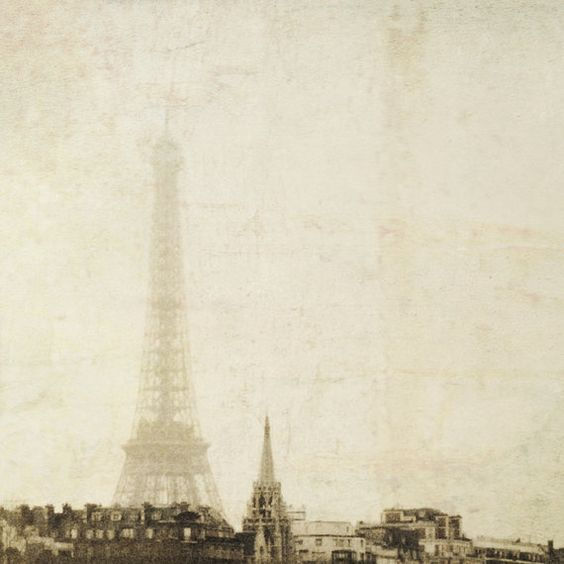 Paris photography Eiffel Tower France romantic print by bomobob, $30.00
