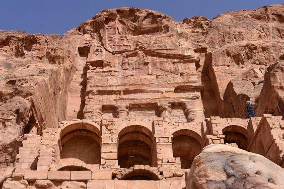 Petra, Jordan - The the Rose-Red city,