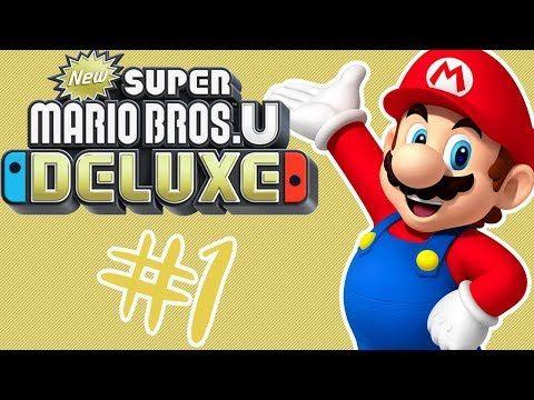 New Super Mario Bros U Deluxe Switch Walkthrough World 1 Acorn