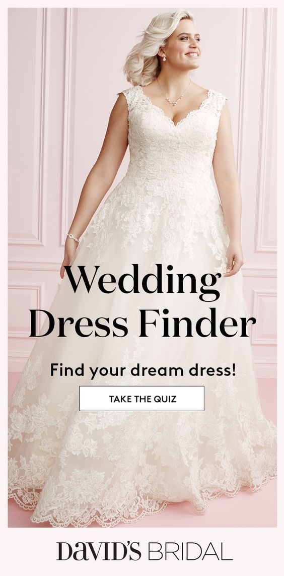 Our Wedding Dress Finder Will Help You Find The One From Mermaids To Ball Gowns And Sleeves To Strapless There S A Look Perfect For Wedding Dress Quiz Wedding Dresses Wedding