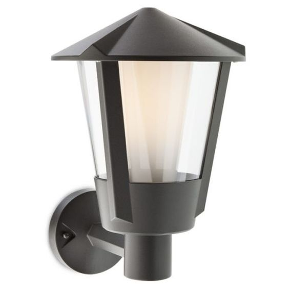 Corpuri de iluminat exterior APLICA PERETE NEAGRA 1XE27 HARLEY 9413 REDO.9413
