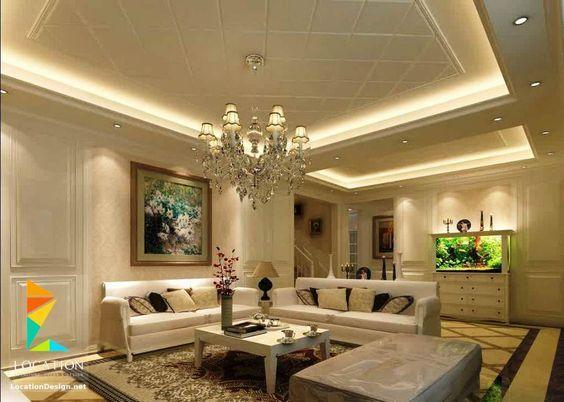 احدث افكار ديكور جبس اسقف الصالات و الريسبشن 2017 2018 Ceiling Design Living Room Ceiling Design Living Room Ceiling