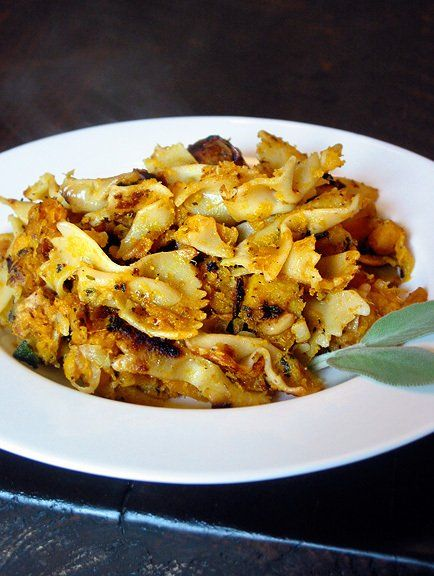 Pasta with Butternut Squash, Sage and Pine Nuts- 15 Vegan Dinner ...