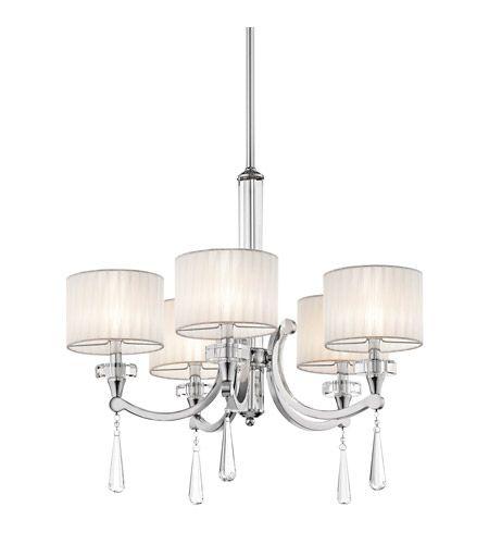 Kichler Lighting Parker Point 5 Light Chandelier in Chrome 42631CH #lightingnewyork #lny #lighting