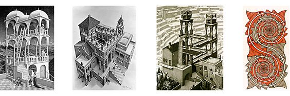 an introduction to the achievements of m c escher His greater achievements lay in the an introduction to the mactutor history of mathematics archive images: from these great minds and mc escher.