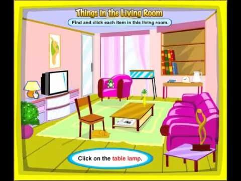 In The Living Room Things In The Living Room Youtube Fmhnwmb Kids Room Accessories Room Circular Dining Room