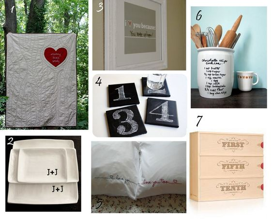 Great Home Made Wedding Gift Ideas!