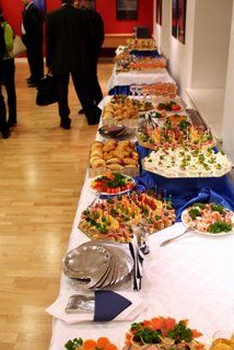 Have A Wedding Reception That S All You Food And Halls