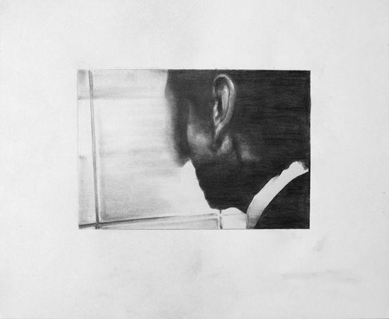TRAVIS K. SCHWAB  Emperor (I) [Study], 2014 Man with Shadow [Study], 2014