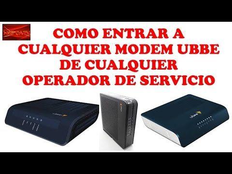 COMO ENTRAR A CUALQUIER MODEM UBEE DE CUALQUIER OPERADOR DE SERVICIO-CURSO DE MOVISTAR UNO - YouTube