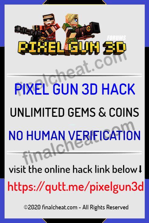 Pixel Gun 3d Coins And Gems Hack No Survey