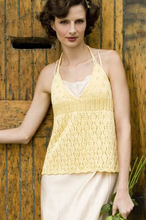 DAIRY MAID Cami-Halter in COTTON CLASSIC