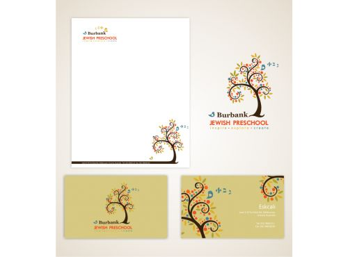 preschool flyers design Entry #85 - Logo design - by dharmi - sample preschool brochure