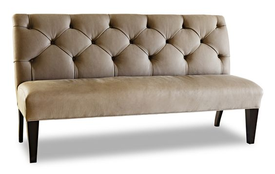 Jhl Design Tufted Leather Banquette 65 W Banquette Pinterest Banquettes And Leather