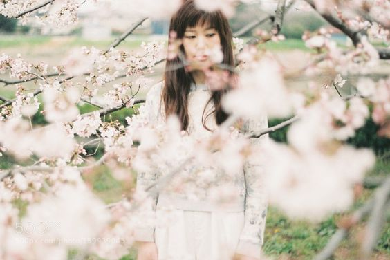 girl in spring by megtronik