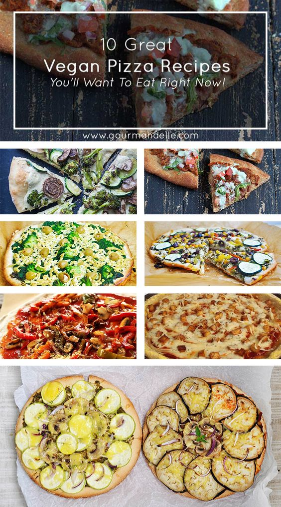 Whether you're vegan or not, I promise you will love these amazing vegan pizza recipes! You won't miss meat or cheese at all! Check them out!   http://gourmandelle.com/vegan-pizza-recipes/   #vegan #pizza ---   http://tipsalud.com   -----