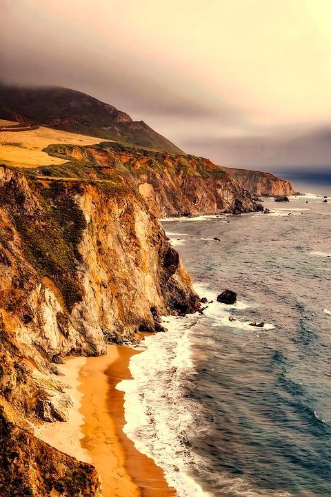 Free Image On Pixabay California Landscape Sea Ocean California Landscape Ocean Landscape