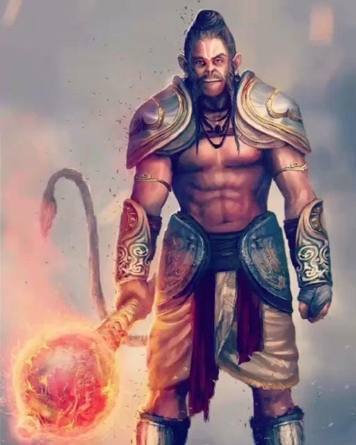 Bhagwan Shri Hanumanji