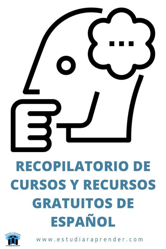 recopilatorio de cursos y recursos gratuitos de español