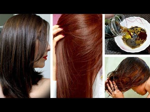 How I Achieved Brown Hair Color 110 Natural Homemade Hair Dye Urdu Hindi Youtube Natural Brown Hair Homemade Hair Products Homemade Hair Color