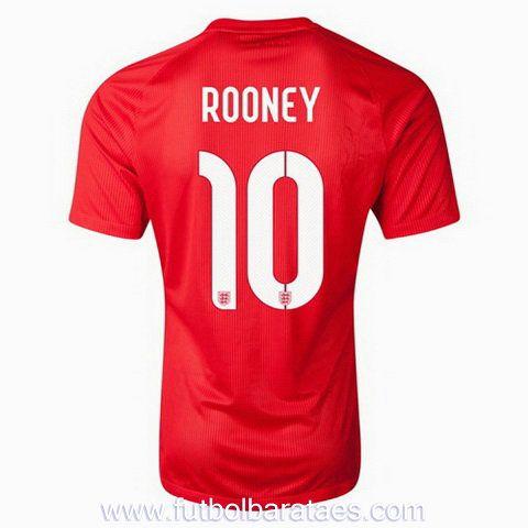Nueva camiseta de Rooney Inglaterra 2nd 2014-2016