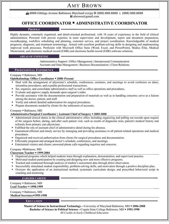 Resume CV Cover Letter Sample Resume Office Manager Bookkeeper