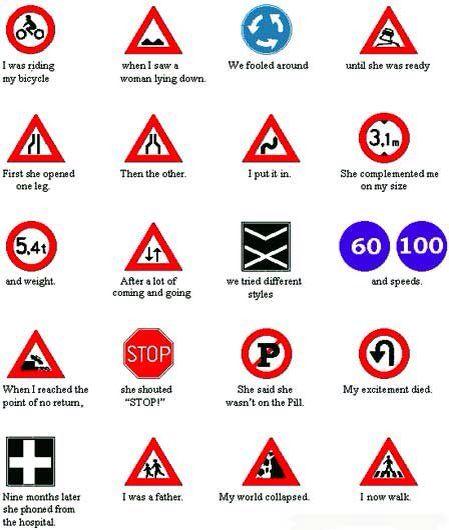 German signs lol!