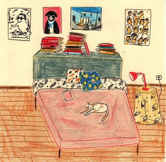 ilustração de María Luque