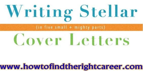 Writing A Stellar Cover Letter -Writing a stellar cover letter - cover letter email subject