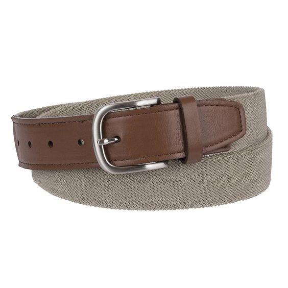 Men's Croft & Barrow® Stretch Web Belt, Size: