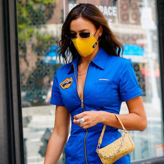 EUEAVAN moda m/áscara facial gafas multifuncional acr/ílico gafas cadena cubierta facial gafas correa clip titular para mujeres