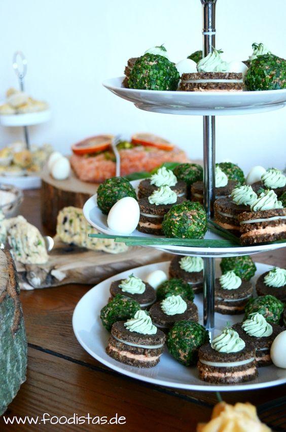 Köstliche Ideen für einen üppiges Oster-Brunch-Buffet   Essen ...