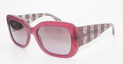 Chanel CH 5295 1485/s1 Translucent purple Lace square Gradient violet Sunglasses