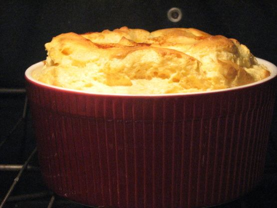 Cheese Soufle....would be easy to convert to SF