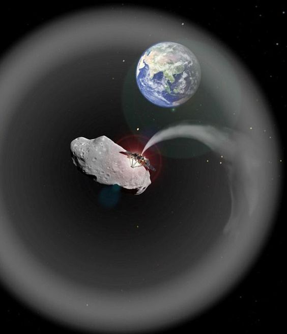 Scientists Want To Blast An Asteroid Into Dust To Fight Global Warming