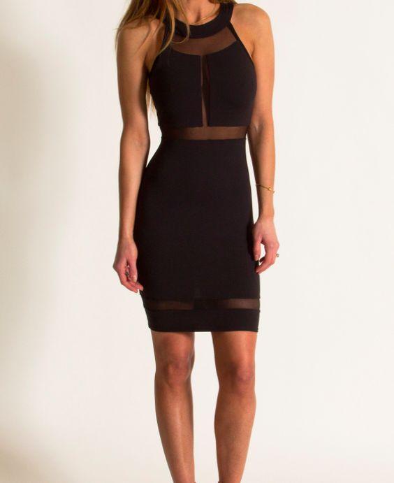 boutique flirt - Donna Mizani Halter Panel Dress Black, $198.00 (http://www.boutiqueflirt.com/donna-mizani-halter-panel-dress-black/)