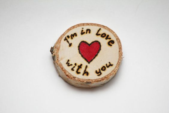 love gift eco gift ecofriendly gift gift for him gift by EcoWood, $6.00