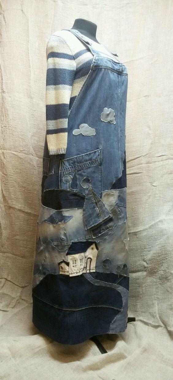 Даем старым джинсам второе дыхание. Супер изделия из старых вещей, которые оценит каждая рукодельница. — Мой милый дом