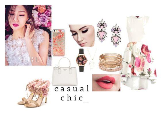 """casual chic"" by yandraletice on Polyvore featuring Prada, Rupert Sanderson, Red Camel, Sonal Bhaskaran, Olivia Burton and Erickson Beamon"